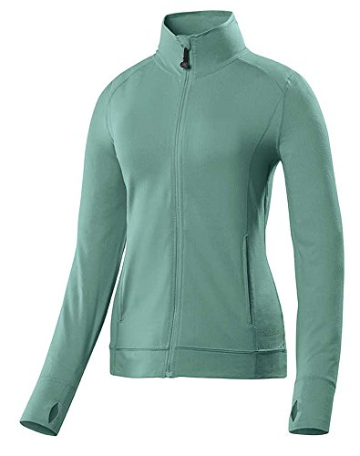 Terramar Sports Women's Cloudnine Full Zip Top XL Jade