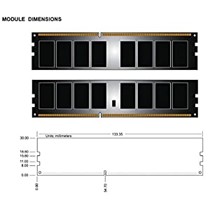 Kingston HyperX FURY 16GB Kit (2x8GB) 1866MHz DDR3 CL10 DIMM - Black (HX318C10FBK2/16)