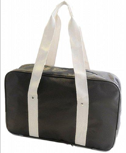 Urban Bridge Japanese High School Bag Boston type casual Cosplay PDAsize (Black)