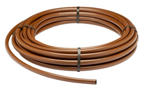 "Rain Bird ET63918-50 Drip Irrigation Pressure Compensating 1/2"" (.700"" OD) Emitter Tubing, 18"" Emitter Spacing, 50"