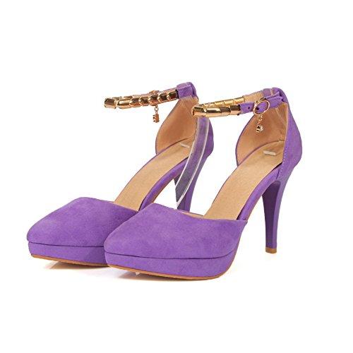 BalaMasa ASL05258 Violet Sandales Compensées Femme vv7r4qx
