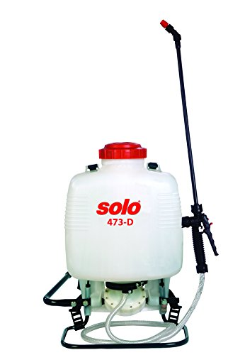 Diaphragm Sprayer - Solo 473-diaphragm Pump 3-Gallon Professional Backpack Sprayer, for Bleach & Wettable Powders, Ergonomic Design