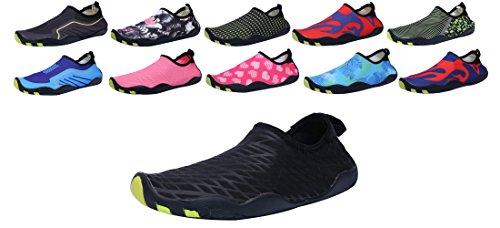 Sami Studio Mannen En Vrouwen Water Schoenen Lichtgewicht Duurzame Rol Aqua Schoenen Geschikt Voor Het Rijden Zwemmen Varen Yoga Beach Surf Black3