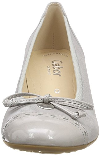 Gabor Shoes Fashion Light Comfort Femme Escarpins Gris Grey rrnwdFxY