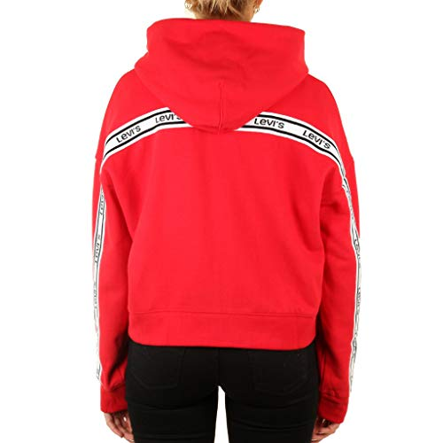 Capuche Levi's W À Red Sweat Logo Trim ® rqRYwr