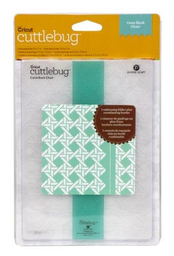 Cuttlebug Embossing Borders (Cricut Cuttlebug Embossing Folder, Cane Back Chair, 5-Inch by 7-Inch)