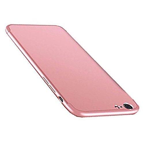 vanki iPhone Cover Plus Antigraffio iPhone Apple in Copertura 1 Posteriore Slim Plus 6 Custodia 6 Rosa Ultra Case Hard 3 Protettiva Antiurto 6S per 6s Bumper PC r5Rqr
