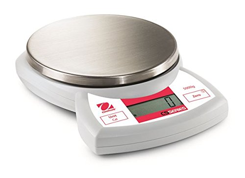 Ohaus CS5000P CS Compact Portable Scales with US postal chart, 5000g Capacity