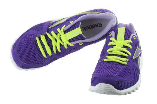Course De Reebok Yellow crisp 4 Run Chaussure 0 Ultraviolet neon white Yourflex Purple nSwqFwYT