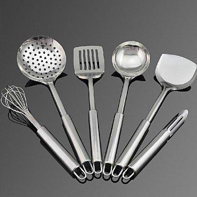 6 pcs kitchen tool set stainless steel 15 8 x 6 0 x 4 0 for Kitchen tool set of 6pcs sj