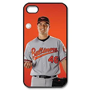 MLB iPhone 4,4S Black Baltimore Orioles cell phone cases&Gift Holiday&Christmas Gifts NADL7B8825480