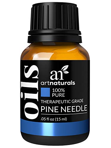 ArtNaturals 100% Pure Pine Needle Essential Oil - (.5 Fl Oz / 15ml) - Undilued Therapeutic Grade - Cleanse Purify and Breathe