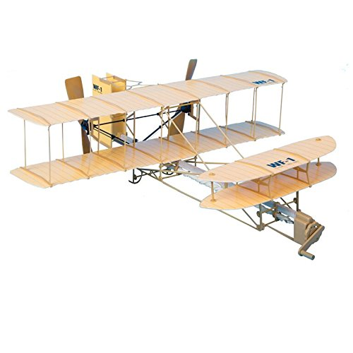 Be Amazing! Toys Sky Blue Flight Giant Wright Flyer Model ()