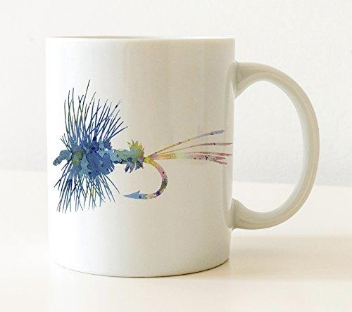 Fly Fishing Mug - Fly Fishing Lover Coffee Mug - 11oz - Unique Fly Fishing Gifts