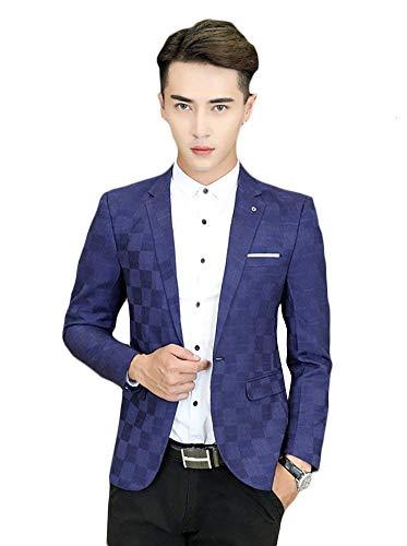 Scollo Cerimonia Elegante V Blazer Tuxedos Giacca Blau Uomo Da Al A Giacche Con Prom Davanti Collo 6qwOIxEY