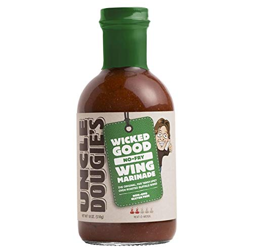 Uncle Dougie Chicago Style Chicken Wing Marinade, 18 Ounce (Pack of 6) ()