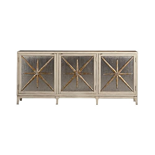 Hooker Furniture Melange Star Power 6 Shelf Console Table
