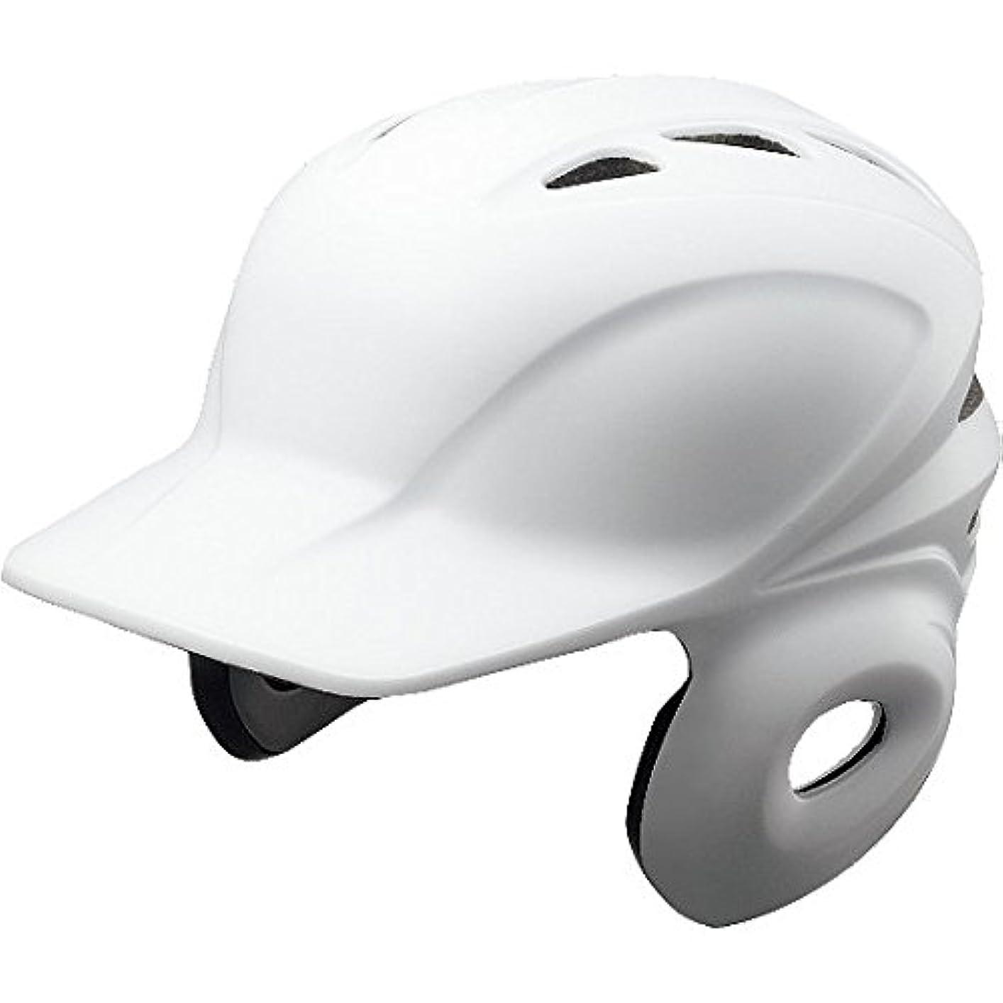 創造ポール時計[ミズノ] 軟式用ヘルメット 両耳打者用 2HA388