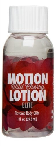 Doc Johnson Motion Lotion Elite Wild Cherry, 1 Fluid Ounce