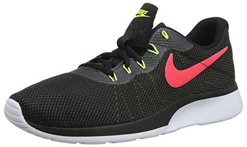 Nike Tanjun Chaussures De Course Course, Multicolore (noir / Rouge Solaire Anthracite 010 Volts)