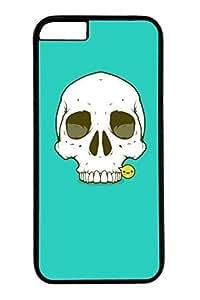 Cool Skull 03 Slim Hard For Iphone 4/4S Case Cover Case PC Black Cases