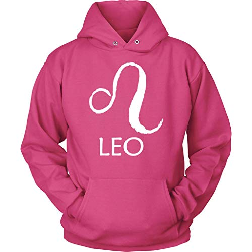Leo Hoodie Birthday Sign - Horoscope Hooded Sweatshirt - Long Sleeve - Plus Size Up to 5X