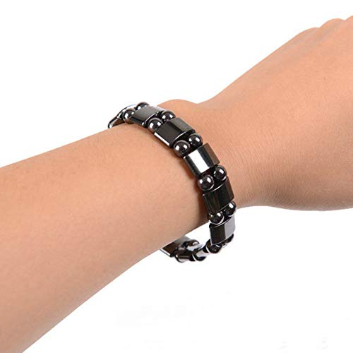 Bluelans Magnetic Therapy Bracelet Pain Relief Iron Chain for Arthritis Carpal Tunnel Valentine's Day/Wedding/Party/Anniversary/Holiday/Mother's Day/Father's Day/Thanksgiving Day/Birthday - Balance Pain Bracelet $10