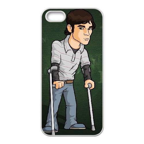 Walter White Jr 002 coque iPhone 4 4S cellulaire cas coque de téléphone cas blanche couverture de téléphone portable EOKXLLNCD20682