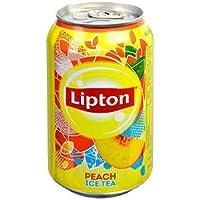 Lipton Ice Tea Peach Blikjes 33cl Tray 24 Stuks