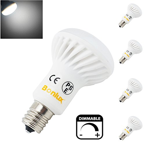 intermediate base e17 dimmable r14 led bulb 5 watt daylight new. Black Bedroom Furniture Sets. Home Design Ideas