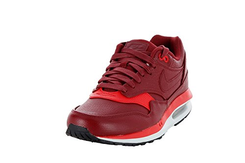 Nike air max lunar1 deluxe team red chilling red 652977 600