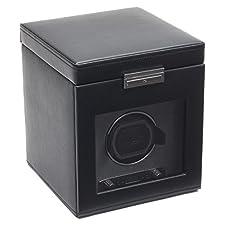 WOLF Viceroy Single Watch Winder with Storage