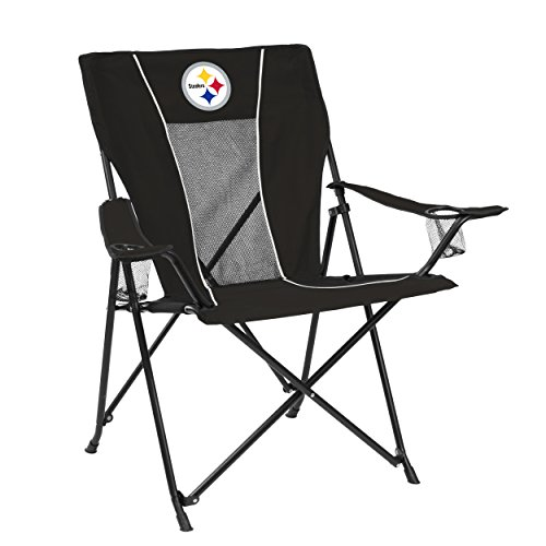 Logo Brands NFL Pittsburgh Steelers Game Time Chair ()