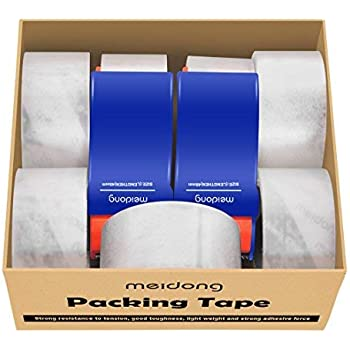 amazon com packing tape meidong shipping tape with dispenser for