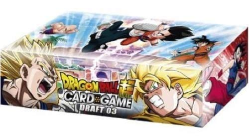 - Dragon Ball Super Draft 03 Booster Box Trading Card Game 24 Packs New Leaders!