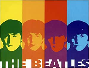 Amazon Com The Beatles Warhol Fleece Throw Blanket 50 Quot X