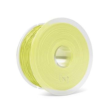 BQ F000163 - Filamento PLA de diámetro 1.75 mm, 1 kg, Color Sulphur Yellow