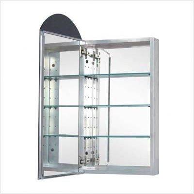 Heath/Zenith MAA1530 Designer Series Reversible Arched Medicine Cabinet