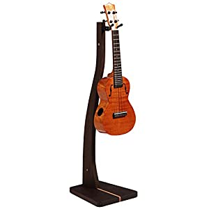 So There Wooden Ukulele Stand - Best Handcrafted Solid Black Walnut Wood Floor Stands forUkulels & Mandolins, Made in USA from So There