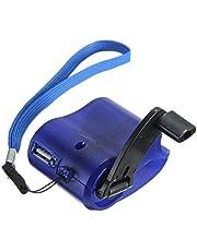 Portable USB Hand Crank Phone nödsituation laddare MP4 vev laddare Phone handen Mobiltelefon Utomhus Manual Strömförsörjning