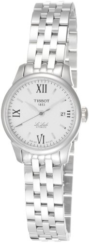 Tissot Women's T41118333 Le Locle Silver Dial Automatic Stainless Steel Watch