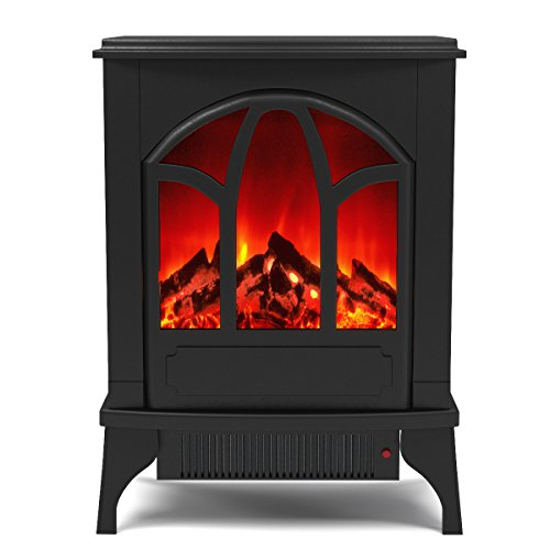 Cheap Regal Flame Juno Electric Fireplace Free Standing Portable Space Heater Stove Better than Wood Fireplaces Gas Logs Wall Mounted Log Sets Gas Space Heaters Propane Gel Ethanol Tabletop Black Friday & Cyber Monday 2019