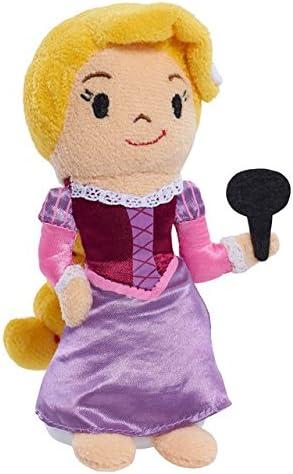 Disney Tangled Series Soft /& Cuddly Bean Plush Rapunzel and Cassandra NEW
