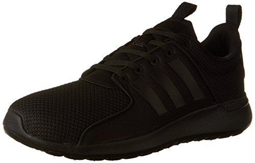 adidas NEO Women's Cloudfoam Lite Racer Running Shoes, Core Black/ Core Black/ Core Black, 7 D US