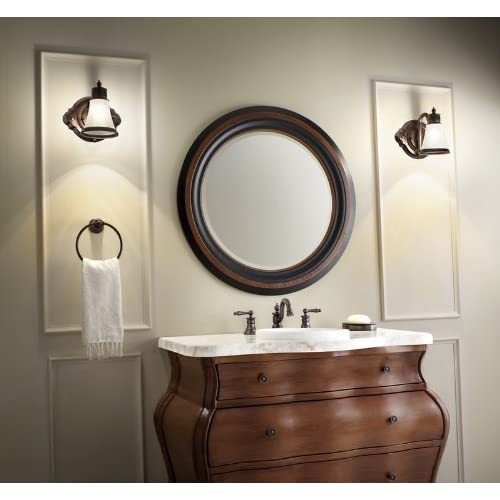 new Moen YB9886ORB Waterhill Towel Ring, Oil Rubbed Bronze