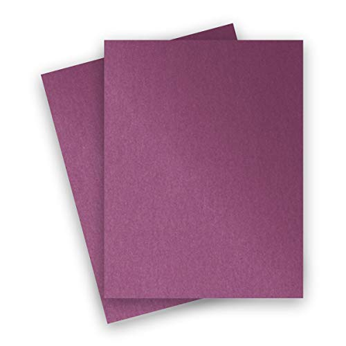 Metallic Punch 8-1/2-x-11 Lightweight Multi-use Paper 25-pk - PaperPapers 120 GSM (81lb Text) Letter size Everyday Metallic Paper - Professionals, Designers, Crafters and DIY Projects