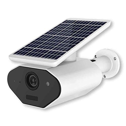 (YUN CAMARA@ Solar Powered Wireless Home Security Camera with Motion Detection Night Vision, Wire Free Surveillance Camera Built in Battery,Waterproof Weatherproof,Model PYXH13)