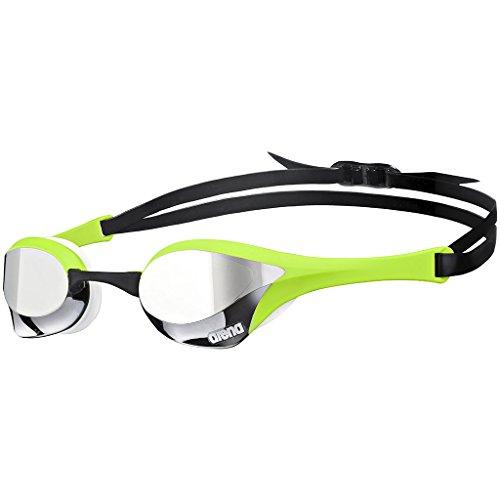 Pro Racing Goggles - Arena Cobra Ultra Mirror Racing Goggles (Green)