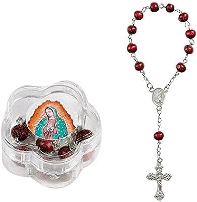 Amazon.com: Nuestra Senora De Guadalupe Coronilla De Petalos ...