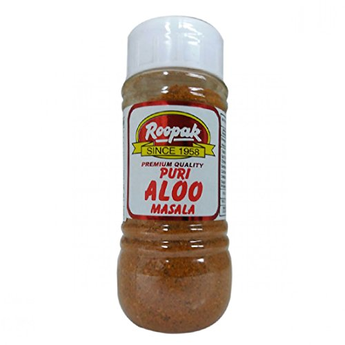 Roopak (Delhi) Puri Aloo Masala Indian Spice Seasoning Powder - 100 gm (Best Iodized Salt In India)